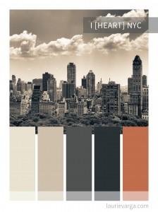 Colour Palette – I [Heart] NYC