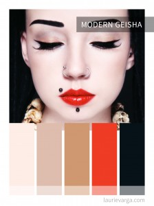 Colour palette of the week | Modern Geisha