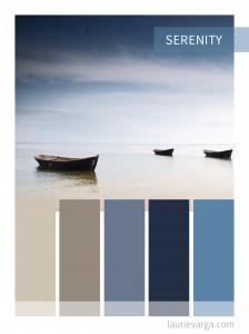 Colour Palette: Serenity