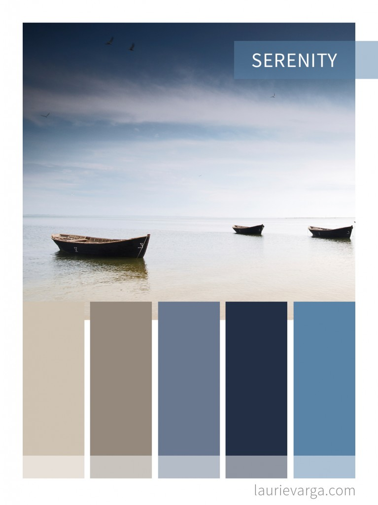 Color Palette For Web And Business Serenity