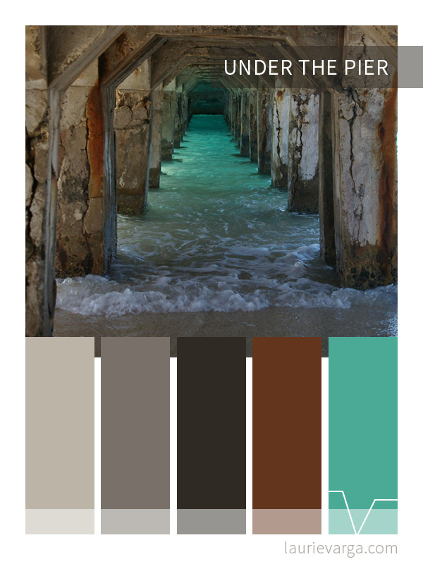 Color Palette | Under The Pier | laurievarga.com