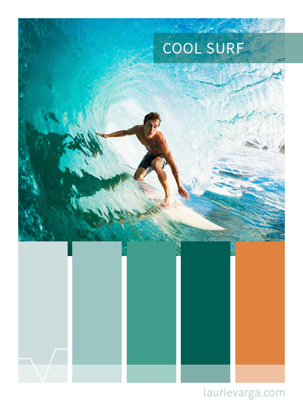 Color Palette | Cool Surf | laurievarga.com