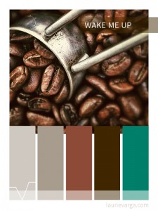 Colour palette of the week : Wake me up