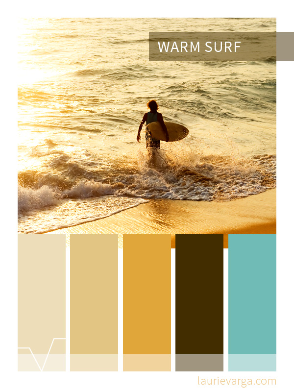 Color Palette | Warm Surf | laurievarga.com