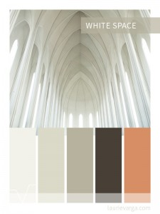 Colour palette of the week : White Space