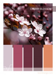 Color palette of the week: Cherry Blossom