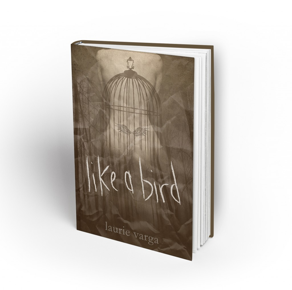 Erotic romance novel cover. Like a Bird.