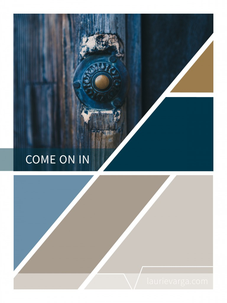 Old door color palette