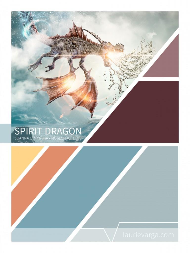 Spiriti Dragon palette. Art by Joanna Ortynska.