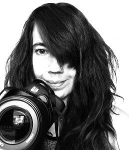 Self portrait by Laurie Varga